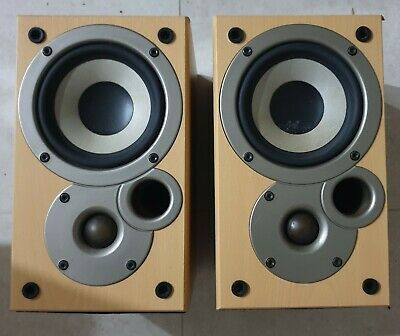 DENON SC-M50 Designed by Mission Stereo speakers