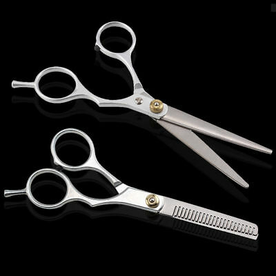 Hairdressing Salon Barber Hair Cutting Thinning Scissors Shears Professional Set