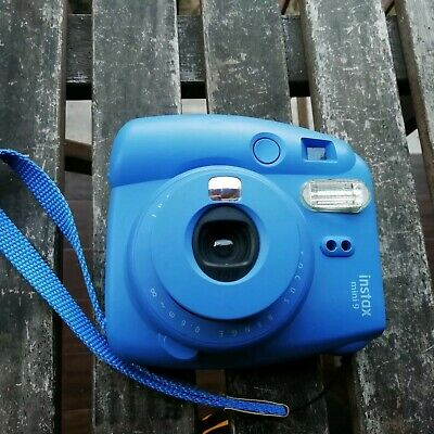 Fujifilm Instax mini 9 Fotocamera Istantanea - Blu tested full work