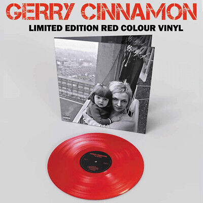 Gerry Cinnamon - The Bonny Limited Edition Red Colour Vinyl Album New IN-STOCK