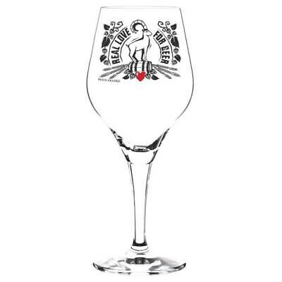 Ritzenhoff Craft Beer Glass, Goblet Real Love by Maya from Frankfurt 2018
