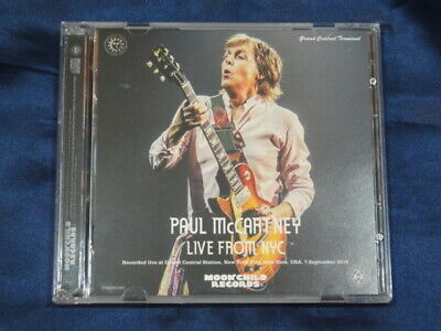 Paul McCartney Live From NYC CD 2 Discs 25 Tracks Moonchild Records Music Rock