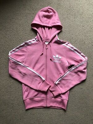 Adidas Tracksuit Top With Hood And Zip