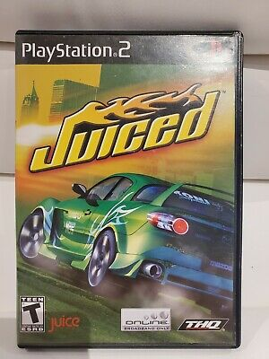 Juiced (Sony PlayStation 2, 2005 PS2) -Complete