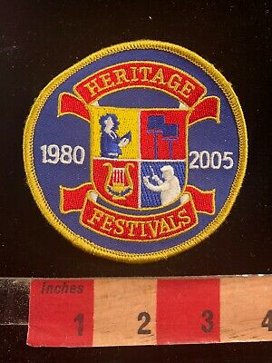 1980-2005 HERITAGE FESTIVALS Music Patch 03SA