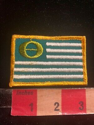 Environmentally Green ECOLOGY FLAG Patch 03RK