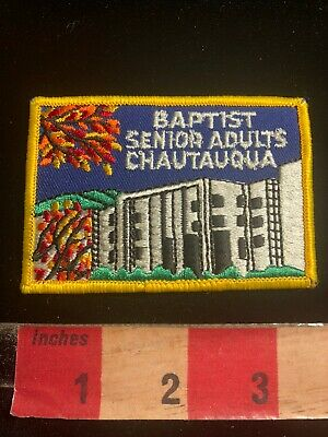 BAPTIST SENIOR ADULTS CHAUTAQUA Patch 03RK