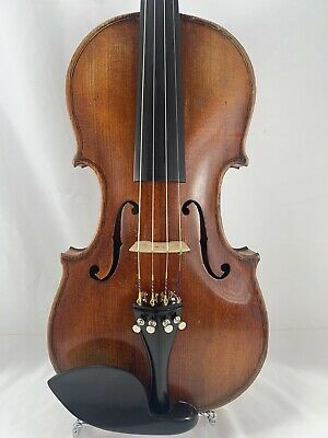 Violin 4/4 Antique Vintage With Grafted Scroll!