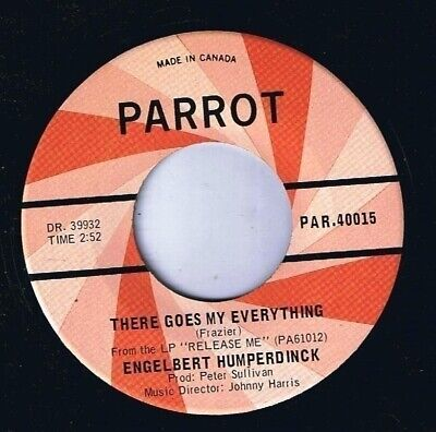Engelbert Humperdinck There Goes My Everything 45 rpm You Love