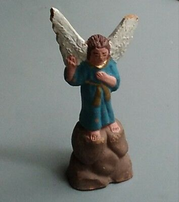 Figura antigua de belén ANGEL TERRACOTA 7 x 3 cm