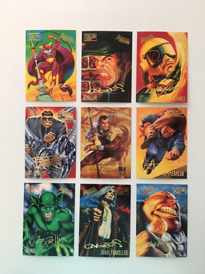 95 FLEER ULTRA SPIDERMAN GOLD SIGNATURE CARDS Pick 1 $2.50 buy 3 shippings free