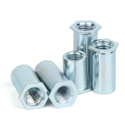 Riveting Stud Nut Column Pieces Of Environmental Protection Galvanized Soo M6