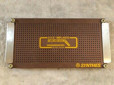 Synthes DHS Implants Metal Case Tray (Tray Only)