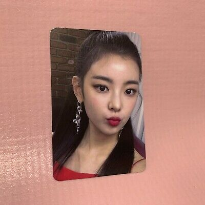 ITZY LIA Official PHOTOCARD Only 1st Mini Album IT'z ICY Photo Card #3