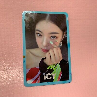 ITZY LIA Official PHOTOCARD Only 1st Mini Album IT'z ICY Photo Card #4