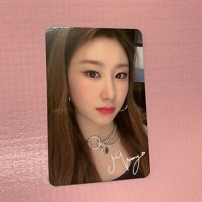 ITZY CHAERYEONG Official PHOTOCARD Only 1st Mini Album IT'z ICY Photo Card #2
