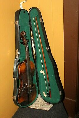 Antique/ Vintage Jacobus Stainer in Absam Violin 4/4 Case And Tourte Bow
