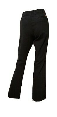 Genuine Dickies Womens Size 8 Black Relaxed Pants Inseam 31
