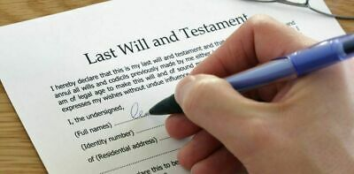 2020 LAST WILL AND TESTAMENT KIT, BRAND NEW Edition, Made for Couples or Singles