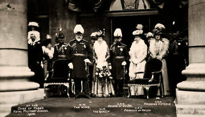 OLD PHOTO The British Royal Family Including King Edward Vii Queen Alexandra