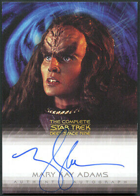 The Complete Star Trek DS9 Mary Kay Adams as Grilka Autograph Card A6