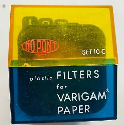 Set of Two Dupont filters 10C
