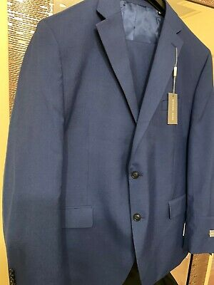 Michael Kors Men's Classic-Fit Suit Jacket 48reg 42w.  Blue NWT
