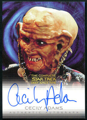The Complete Star Trek DS9 Cecily Adams as Ishka Autograph Card A19