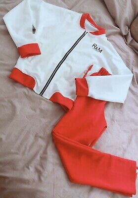 White And Red Tracksuit