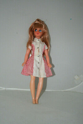 Vintage 70S Susi Estrela Brazil Version Of Tammy Ideal Sindy Uk Doll Re-Rooted