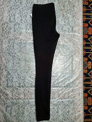 NWT Ann Taylor Loft Women's Black Stretch Pull On Skinny Leg Pants Size XXSP