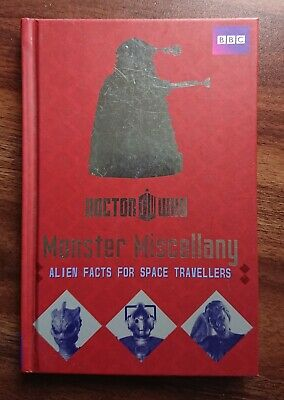 Doctor Who Monster Miscellany Book