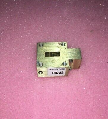 Microwave Isolator 24 Ghz  Wr 42    Tested