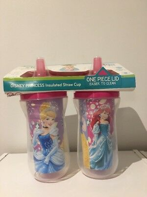 Disney Princess - The First Years - 2 Insulated Straw Cups