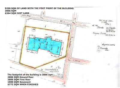Bulgarian Building constructed 6726 sq.m land 9250 sqm in the Popovo  Town