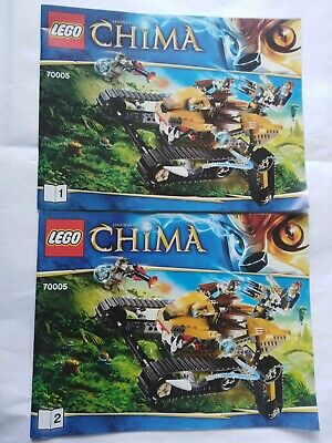 70005 Lego Legends Of Chima Building Instruction Manual Booklets Laval's Royal