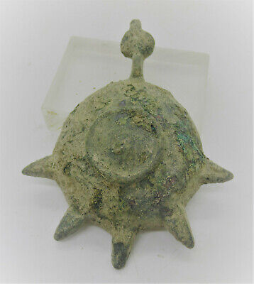 Detector Finds, Unresearched Ancient Bronze Object Sun Solar Form