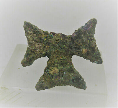Detector Finds Ancient Byzantine Bronze Cross Fragment