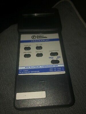 Fisher Scientific Traceable RTD FB50262 Good Condition