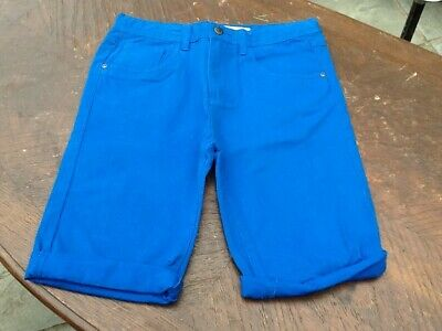 Denim Co Boys Blue Jean Knee Length Shorts Age 12-13 Years