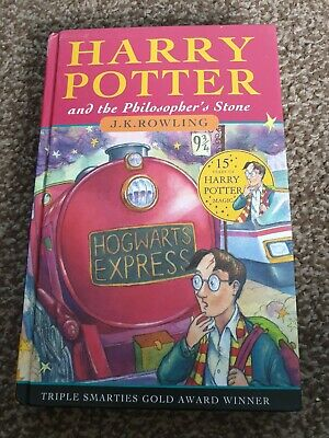 Harry Potter and the Philosopher's Stone  - J.K. Rowling Hard Back Book