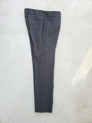 The Limited Drew Fit Dress Pants Size 12 Womens Gray Straight Leg Stretch