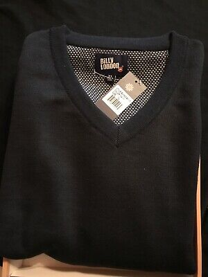 Billy London UK Mens Navy Blue  Sweater Size XL New IN BOX With Tags