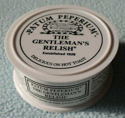 Patum Peperium The Gentleman's Relish, Spiced Anchovy Relish. 71g, Sealed & New!