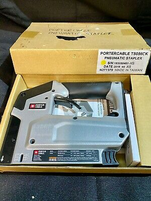 Porter-Cable Pneumatic 18-Gauge 3/8 in. Crown Stapler