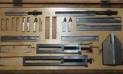 C.E. Johansson Ford Dearborn GAGE BLOCK ACCESSORIES SET 14 pieces