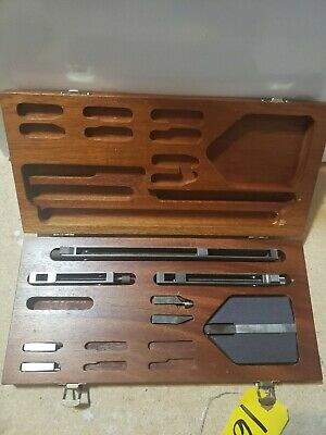 Brown & Sharpe GAGE BLOCK ACCESSORIES SET 8 pieces