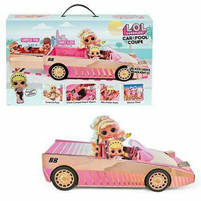 LOL Surprise Car-Pool Coupe with Exclusive Doll NEW in Hand Ships Fast