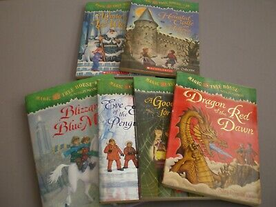 Lot Of 6 Magic Tree House Books By Mary Pope Osborne