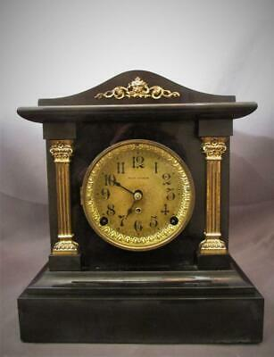 Nice Antique Seth Thomas Adamantine Clock  Don Model  1907  Runs